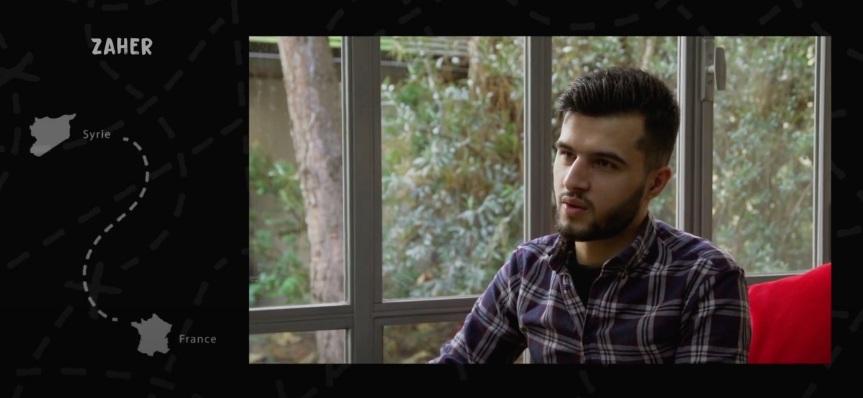 Témoignage : Zaher, photojournaliste et réfugiépolitique