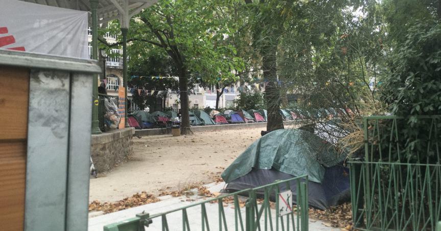 Campement de mineurs non accompagnés à Paris : nous dénonçons l'incompréhensible inaction des responsablespolitiques